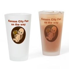 chiefs_maternity Drinking Glass