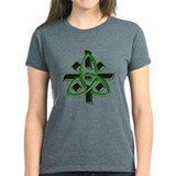 Celtic Cross Green Tee