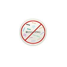 No bullying Mini Button