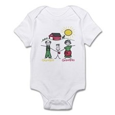 Grandma, Grandpa and Me  Infant Bodysuit