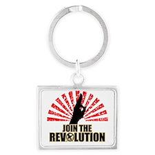Hunger Games Revolution Landscape Keychain