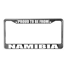Namibia License Plate Frame