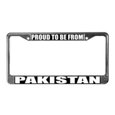 Pakistan License Plate Frame