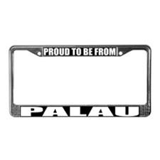 Palau License Plate Frame