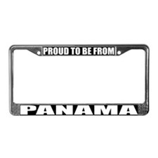 Panama License Plate Frame