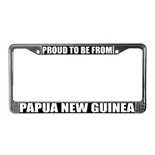 Papua New Guinea License Plate Frame