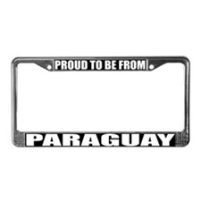Paraguay License Plate Frame