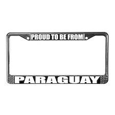 Paraguay License Plate Frame