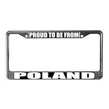 Poland License Plate Frame