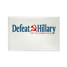 Cute Anti hillary Rectangle Magnet
