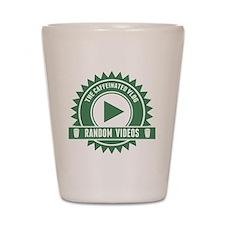 Caffeinated Vlog Seal Shot Glass
