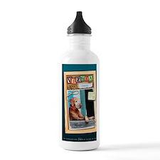 Journal_flynn-corkboar Water Bottle