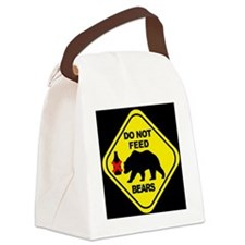 bear2 Canvas Lunch Bag