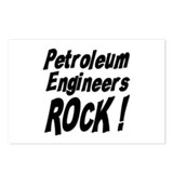 Petroleum Engineers Rock ! Postcards (Package of 8