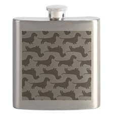 wirehairdoxiepillowPATTERN Flask