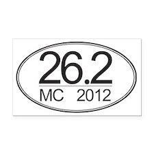 MC-12 - 5x3 Oval Stkr Rectangle Car Magnet