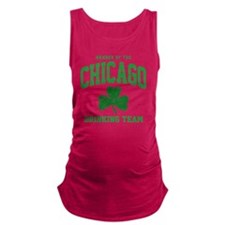 Chicago Drinking Maternity Tank Top