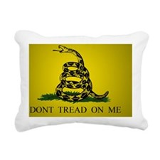 Gadsden_flag_Tint Rectangular Canvas Pillow