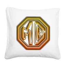 MG Cars Glow Square Canvas Pillow