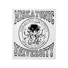 Miskatonic Light Throw Blanket