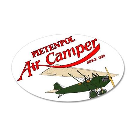 logo aircamper color rsu gre 35x21 Oval Wall Decal