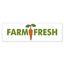 Farm Fresh Bumper Bumper Sticker