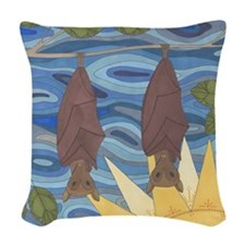 Hanging Around Woven Throw Pillow