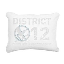 DIS 12 dark copy Rectangular Canvas Pillow