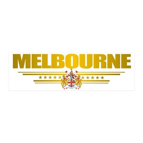 Melbourne (Flag 10) pocket 2 20x6 Wall Decal