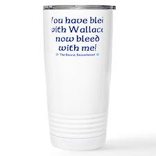 Braveheart Bruce Bleed Blue Travel Mug