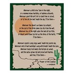 Prayer Of The Cowboy Small Poster