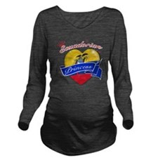 ecuador Long Sleeve Maternity T-Shirt