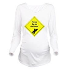 future surfer Long Sleeve Maternity T-Shirt