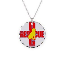 rescue dog 04 Necklace