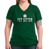 Pet Sitter Pink Stripes Shirt