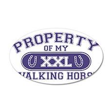 walkinghorseproperty 35x21 Oval Wall Decal