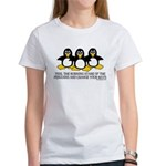 Burning Stare Penguins Women's T-Shirt