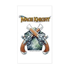 Black Powder Revolutionaries Sticker (Rect.)