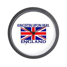 Funny Hull united kingdom Wall Clock