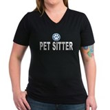 Pet Sitter Blue Stripes Shirt