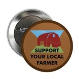 "Support Your Local Farmer 2.25"" Button (10 pack)"