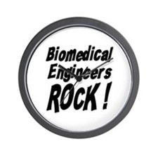 Biomedical Engineers Rock ! Wall Clock