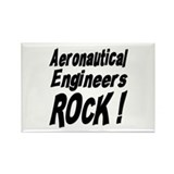 Aeronautical Engineers Rock ! Rectangle Magnet (10