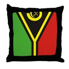 Vanuatu (iPad2) Throw Pillow
