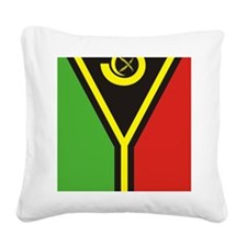 Vanuatu (iPad) Square Canvas Pillow