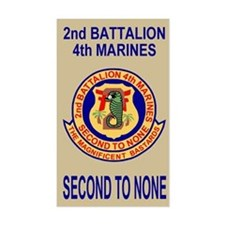 2nd Bn 4th Marines<BR>Decal
