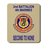 2nd Bn 4th Marines<BR>Mousepad