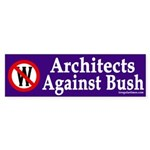 Architects Against Bush (bumper sticker)