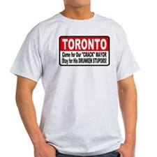 Toronto Crack Mayor Drunken Stupor T-Shirt
