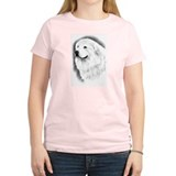 Great Pyrenees Portrait T-Shirt, light yellow